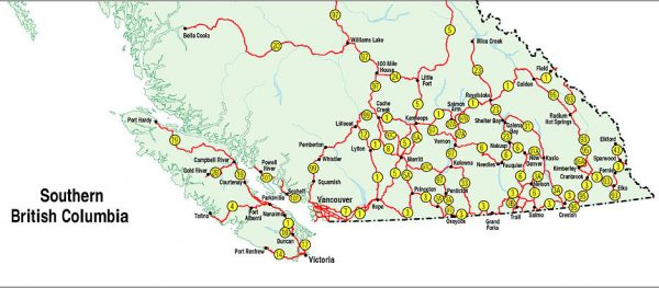 Map Of Southern Bc Maps & Resources   Visit Port Hardy